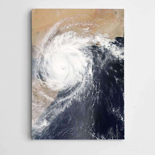 Fırtına Kanvas Tablo