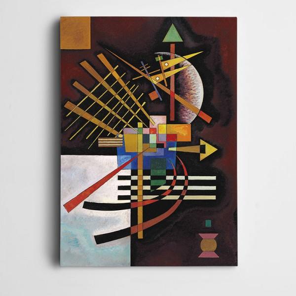 Şekiller Ve Renkler Dekoratif Kanvas Tablo