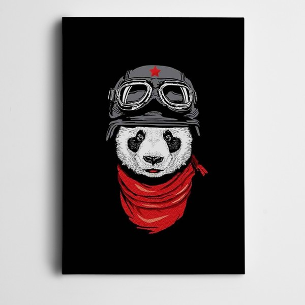 Panda Kanvas Tablo