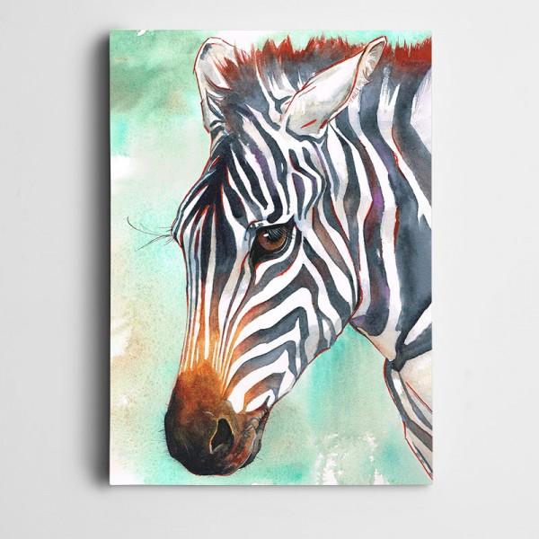Zebra Kanvas Tablo