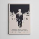 Spectre Bond Kanvas Tablo