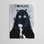 Coraline Kanvas Tablo
