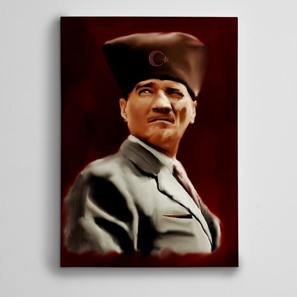 Atatürk 2 Kanvas Tablo
