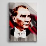 Atatürk Bayrak ve Anıtkabir Kanvas Tablo