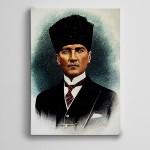 Atatürk Portre 2 Kanvas Tablo