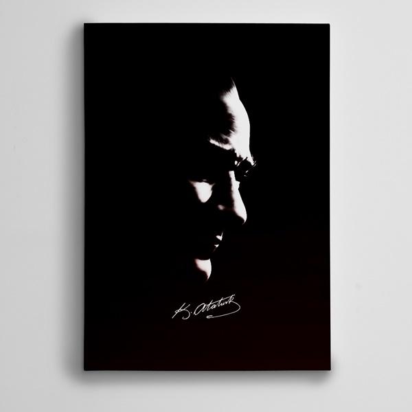 Atatürk Portre 3 Kanvas Tablo