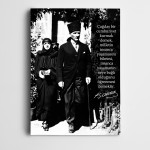 Atatürk Birlik Kanvas Tablo