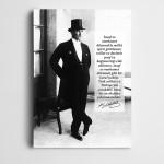 Atatürk Çalışkanlık ve Zafer Kanvas Tablo