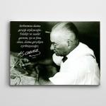 Atatürk Gerçek Kanvas Tablo