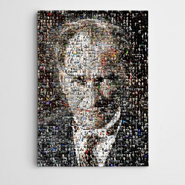 Atatürk Portreler Mozaik Kanvas Tablo