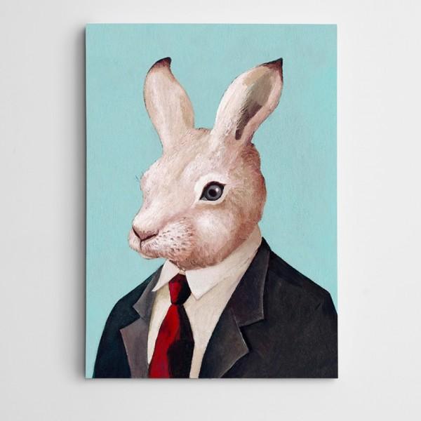 Tavşan Modern Sanat Kanvas Tablo