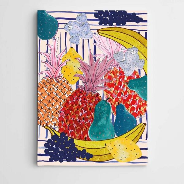 Meyveler Kanvas Tablo