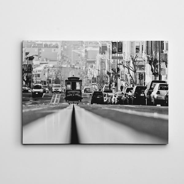 Tramvay Kanvas Tablo
