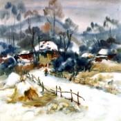 Dekoratif Kare Kanvas Tablolar (124)