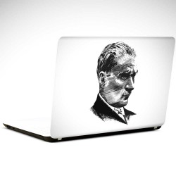 Atatürk Laptop Sticker