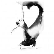 Siyah Beyaz Kanvas Tablo (34)