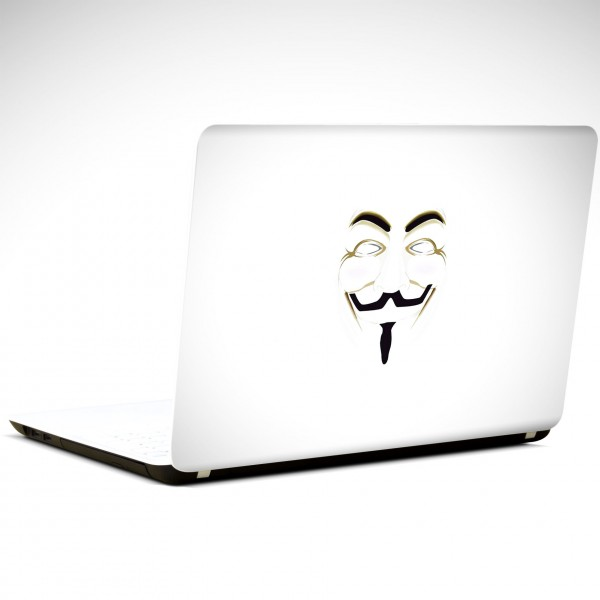 Anonymous Laptop Sticker