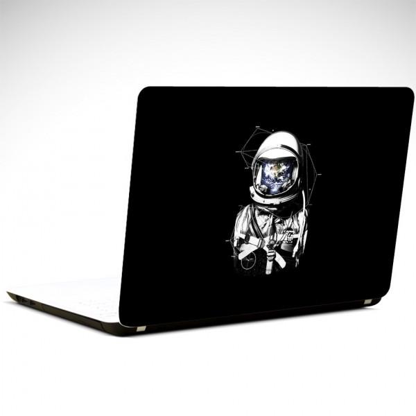 Astronot Laptop Sticker