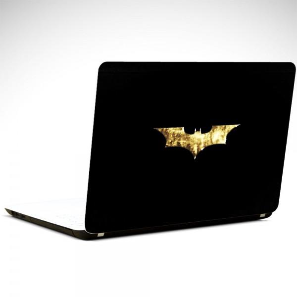 Batman Gold Laptop Sticker