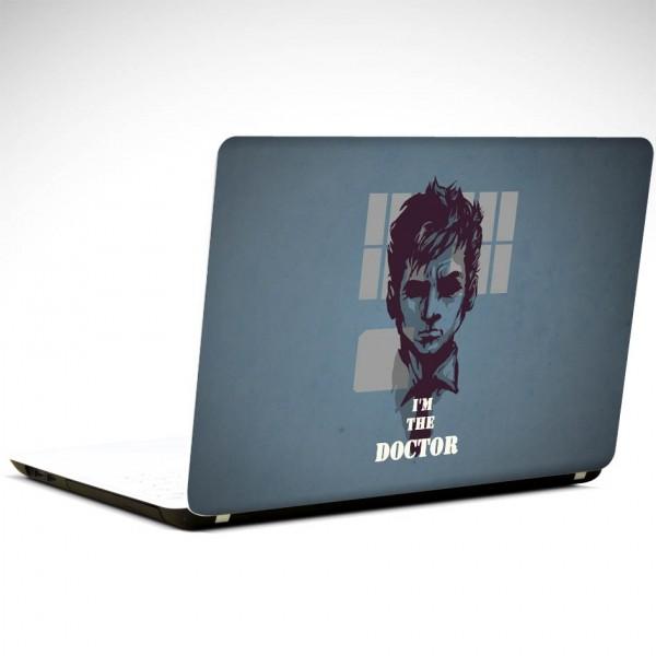 Doktor Who Tardins  Laptop Sticker
