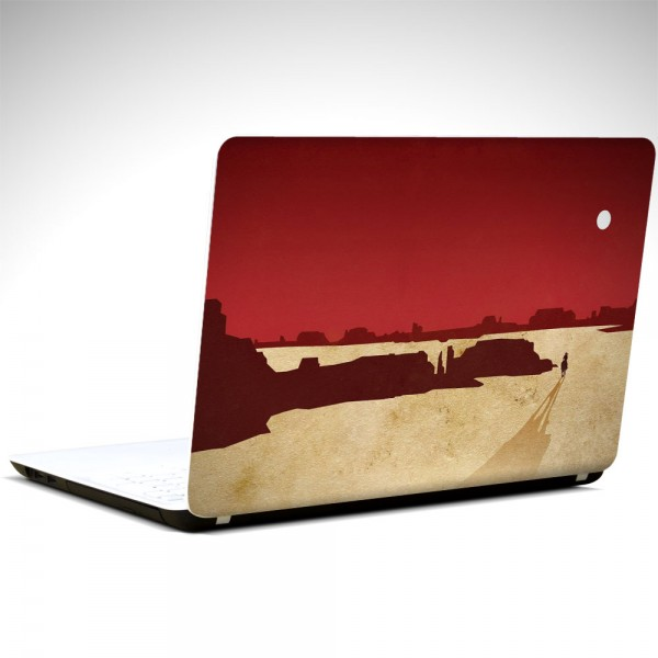 Red Dead Laptop Sticker