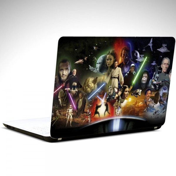Starwars Karakterleri Laptop Sticker