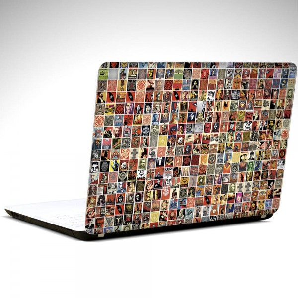 Ünlüler ve Liderler Laptop Sticker