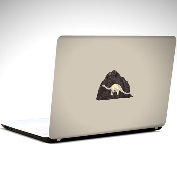 dinazor-minimal-laptop-sticker