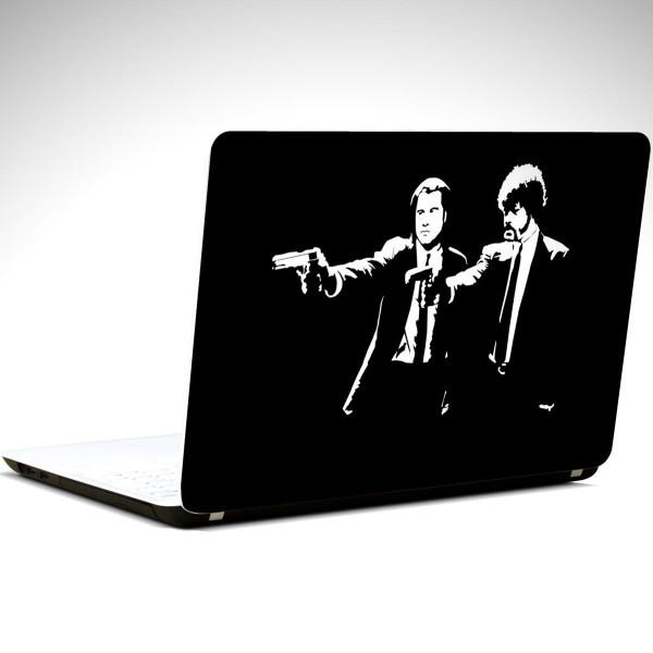 Ucuz Roman Siyah Beyaz  Notebook Sticker